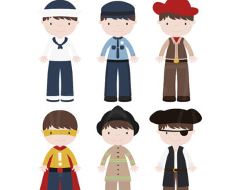 Dress Up Clip Art--0