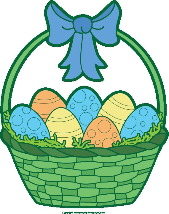- Easter Basket Clip Art