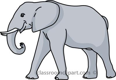 Elephant Clipart--0