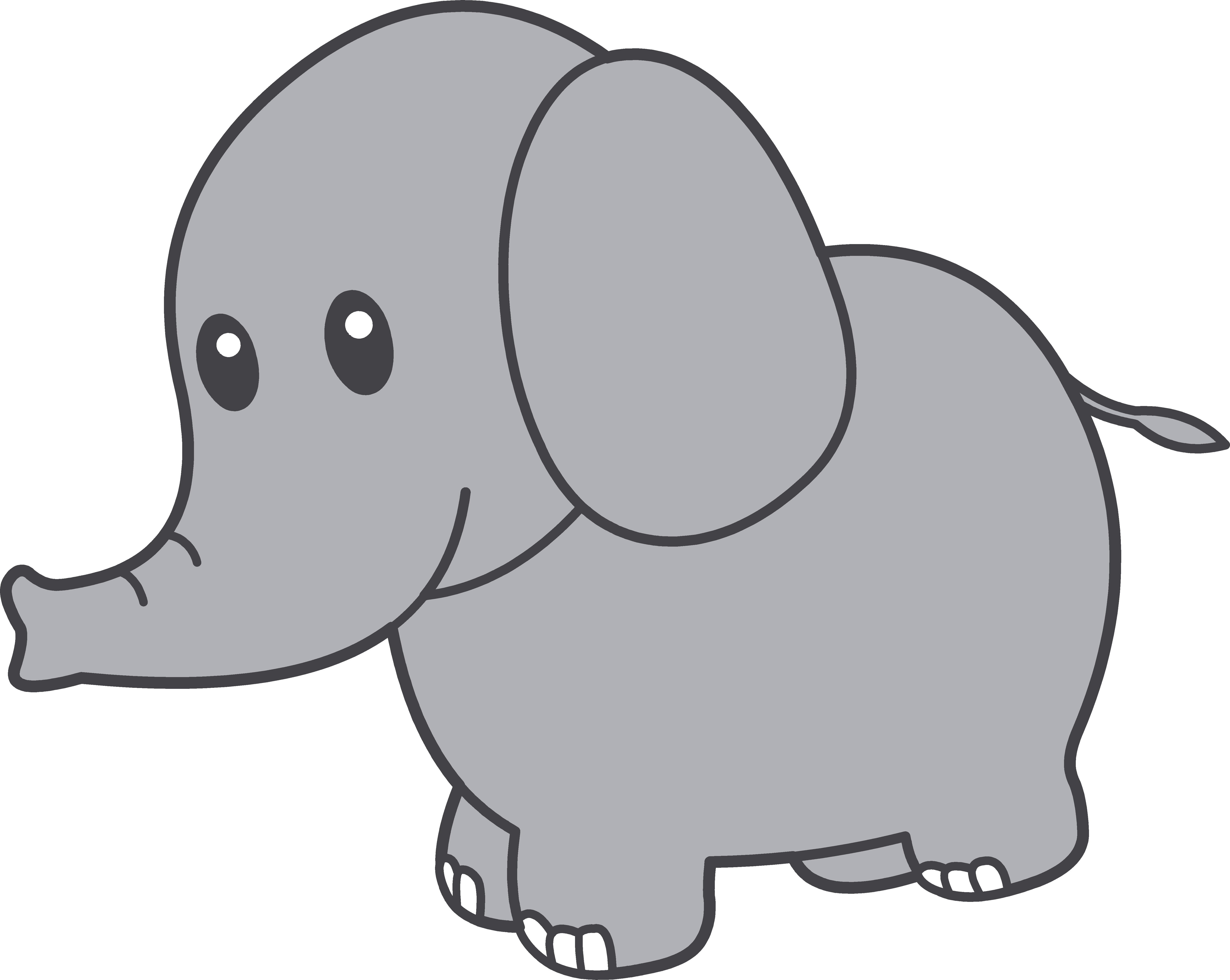 Elephant Clipart--2