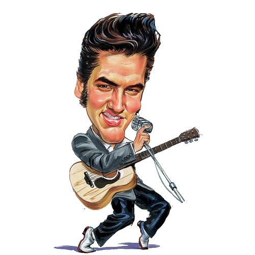 Elvis Presley Clipart