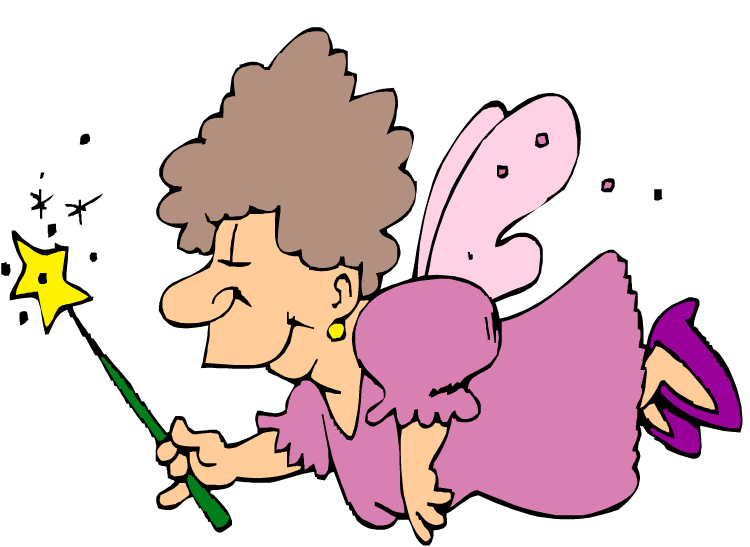 Fairy Godmother Clipart--0