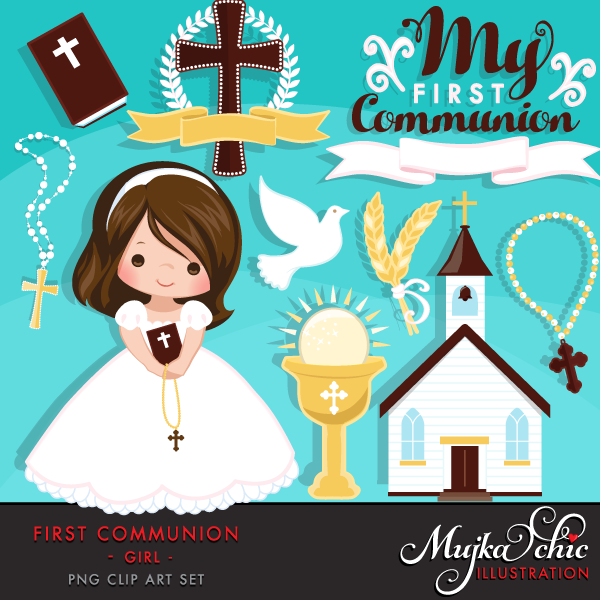 First Communion Clipart