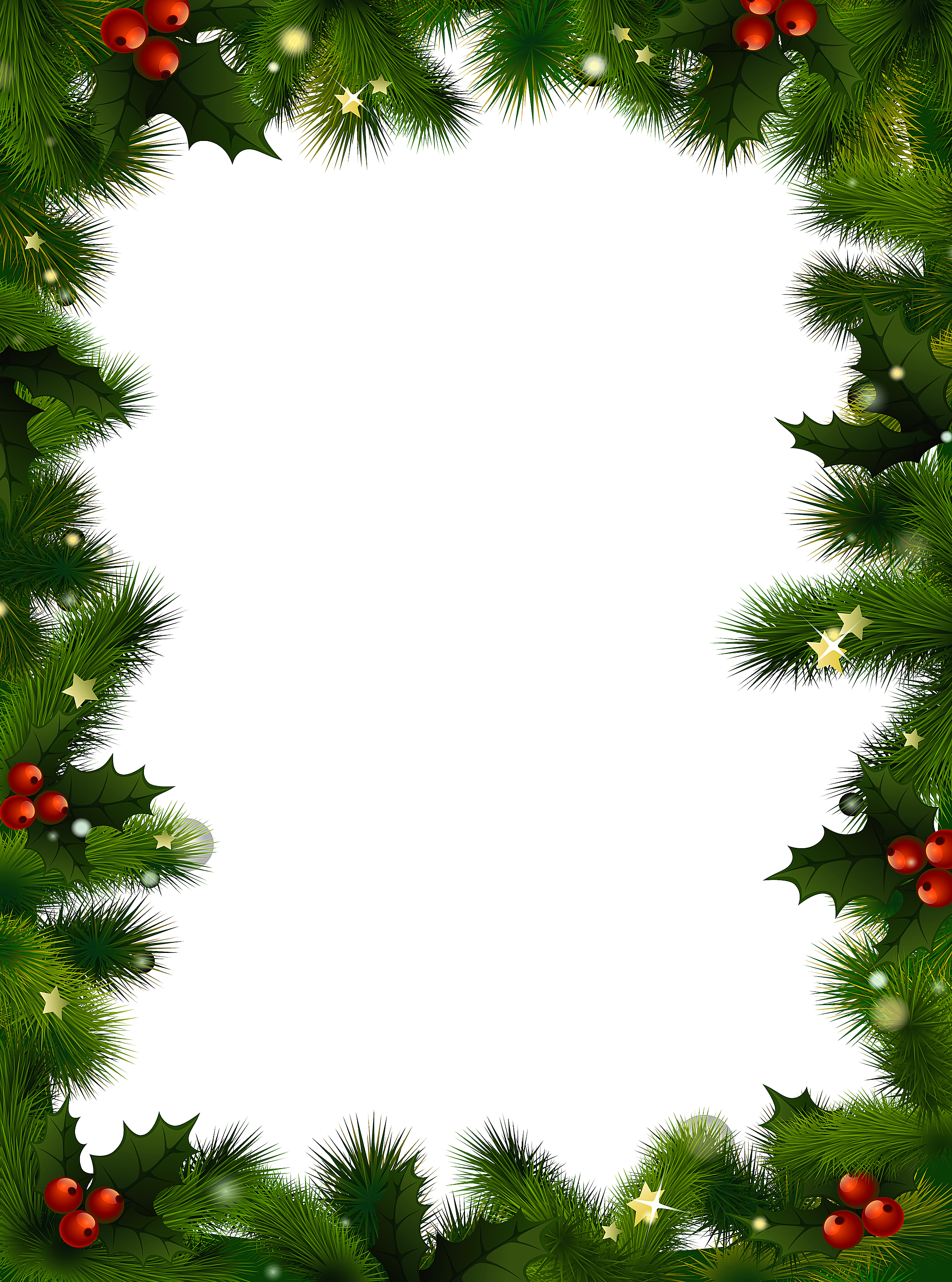 Free Holiday Clipart Borders--10