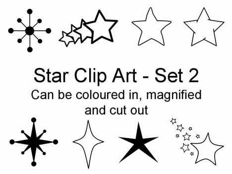 Free Star Clipart--0
