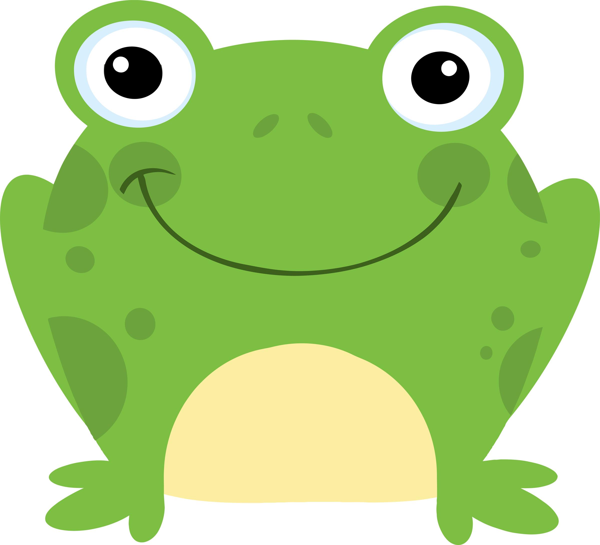 Frogs Clip Art--13