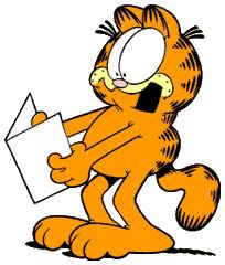 Garfield Clipart--12