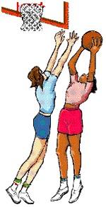 Girls Basketball Clip Art--14