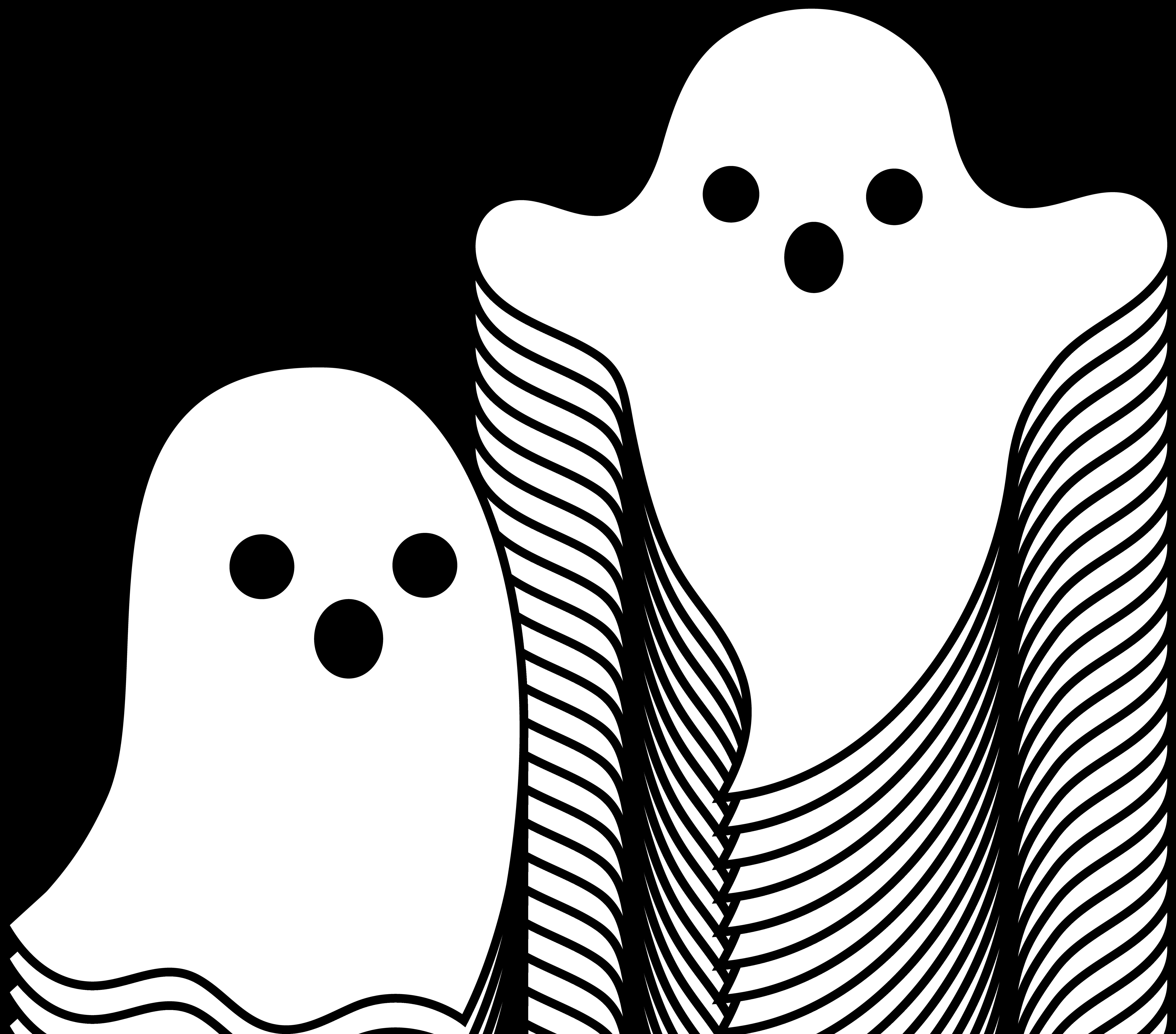 Halloween Ghost Clipart--0