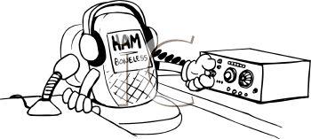 Ham Radio Clipart--0