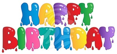 - Happy Birthday Clip Art