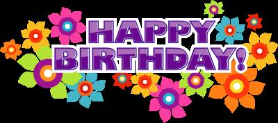 Happy Birthday Clipart--1