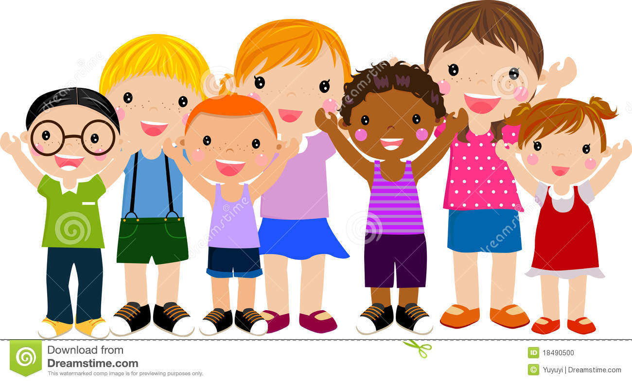 - Happy Children Clipart