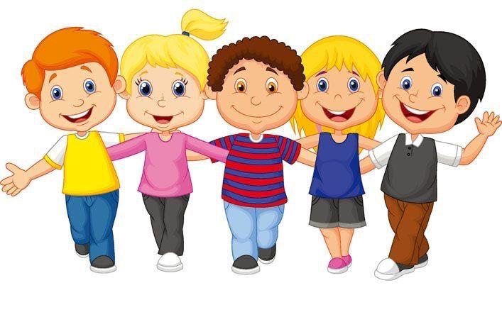 - Happy Children Clipart