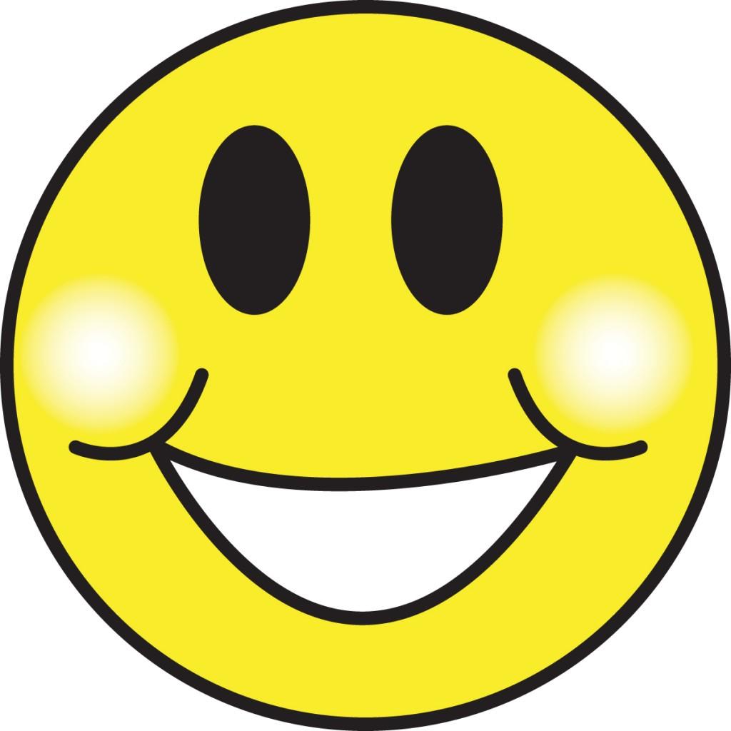 Happy Face Clip Art--1