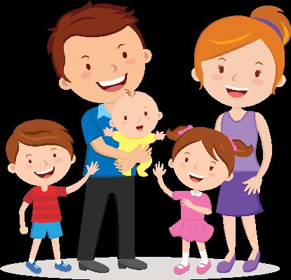 Happy Family Clipart--1