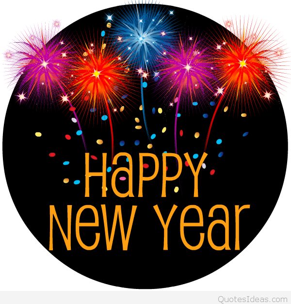 Happy New Year Clipart Free--0