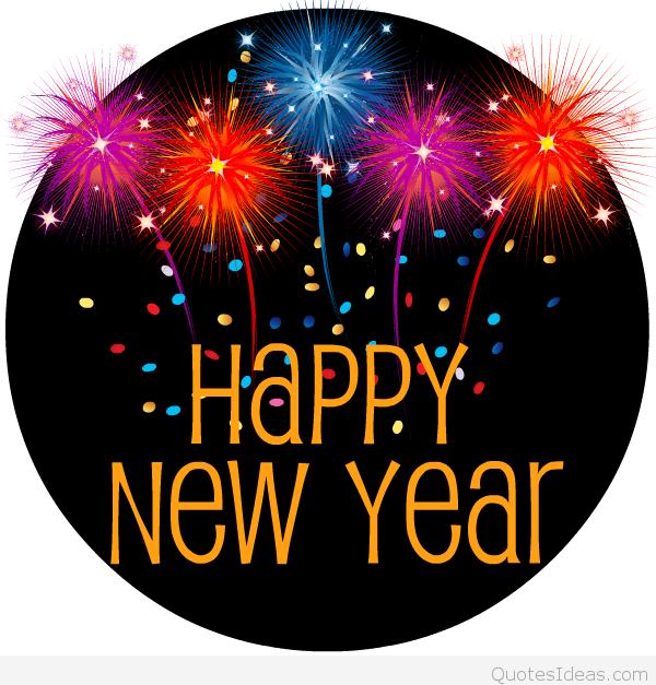 Happy New Year Free Clip Art--0