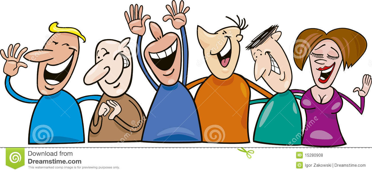 Happy People Clipart--13