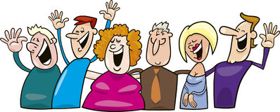Happy People Clipart--8