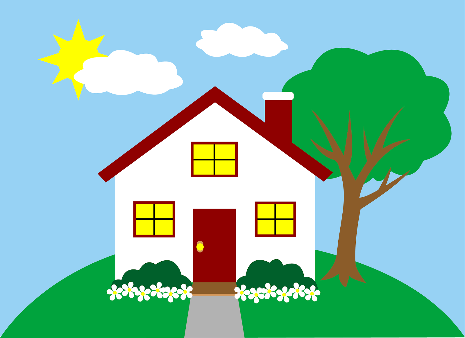House Clipart Images--8