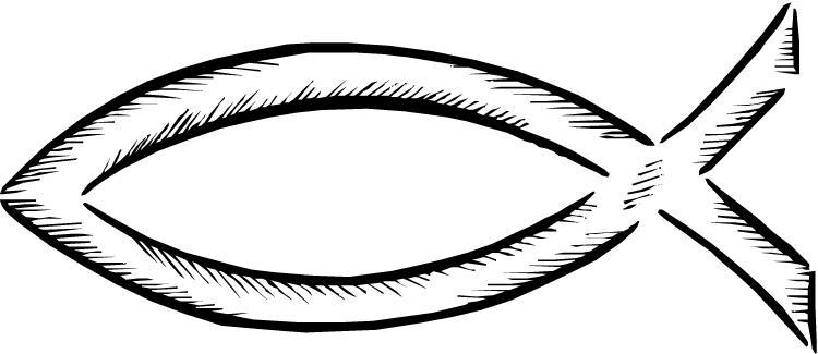 Jesus Fish Clipart--1