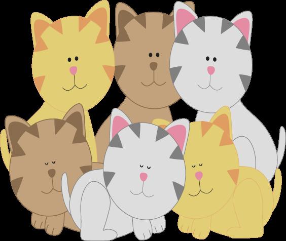 Kittens Clipart--0