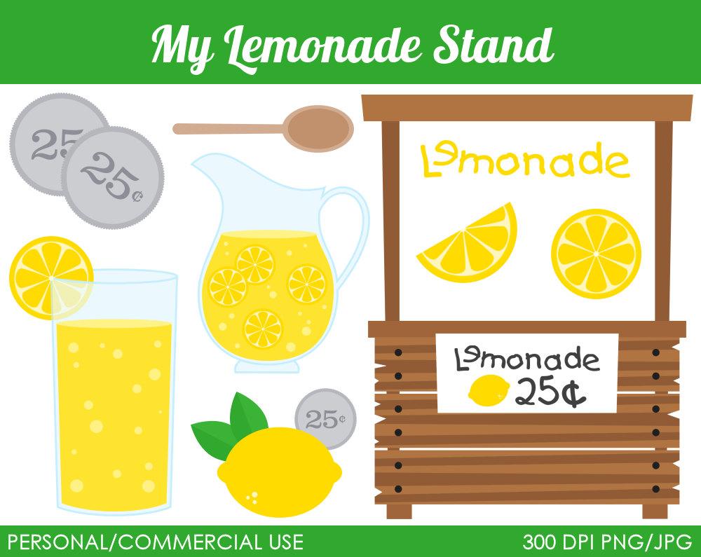 Lemonade Stand Clipart--0