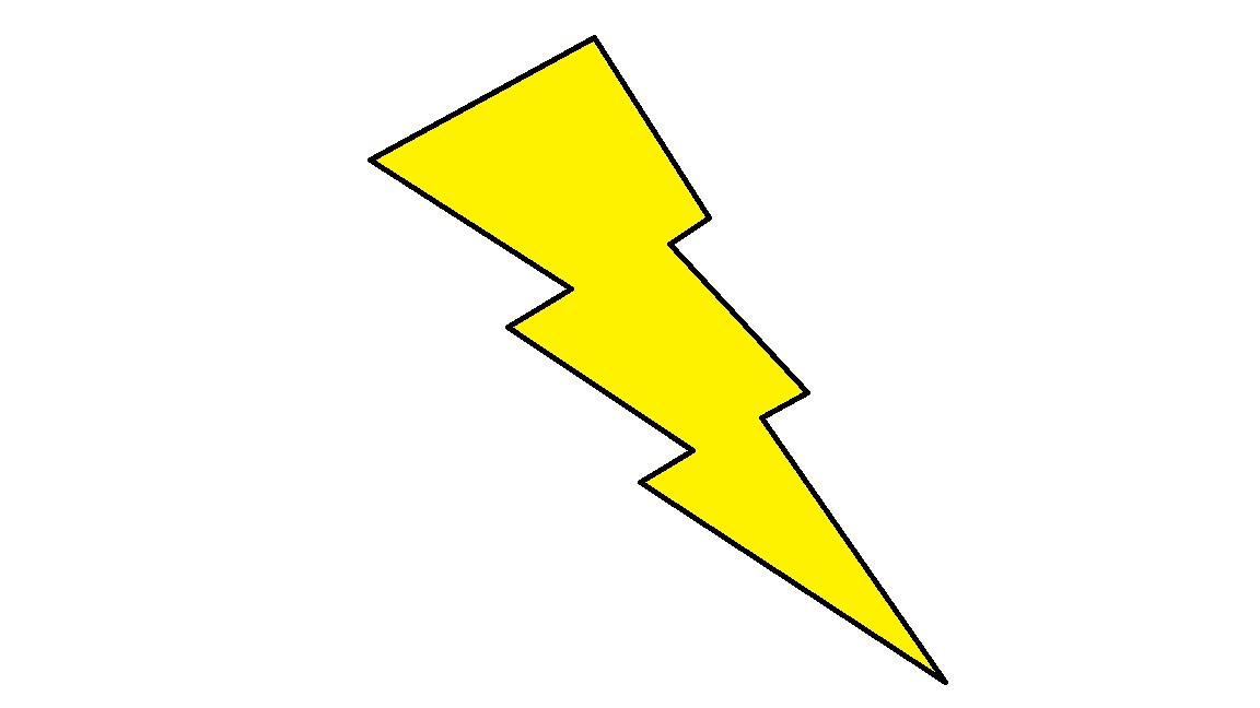 Lightening Bolt Clipart