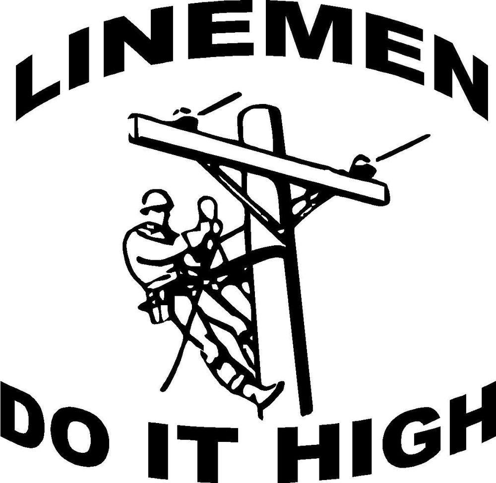 Lineman Clipart--6