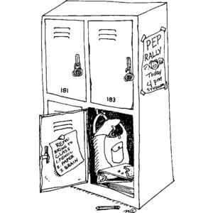 Locker Clip Art--0