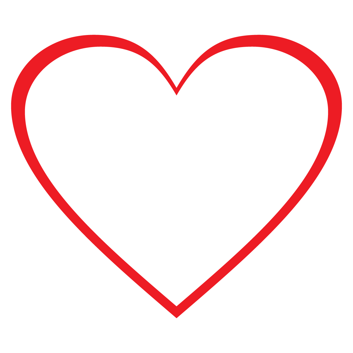 Love Heart Clipart--4