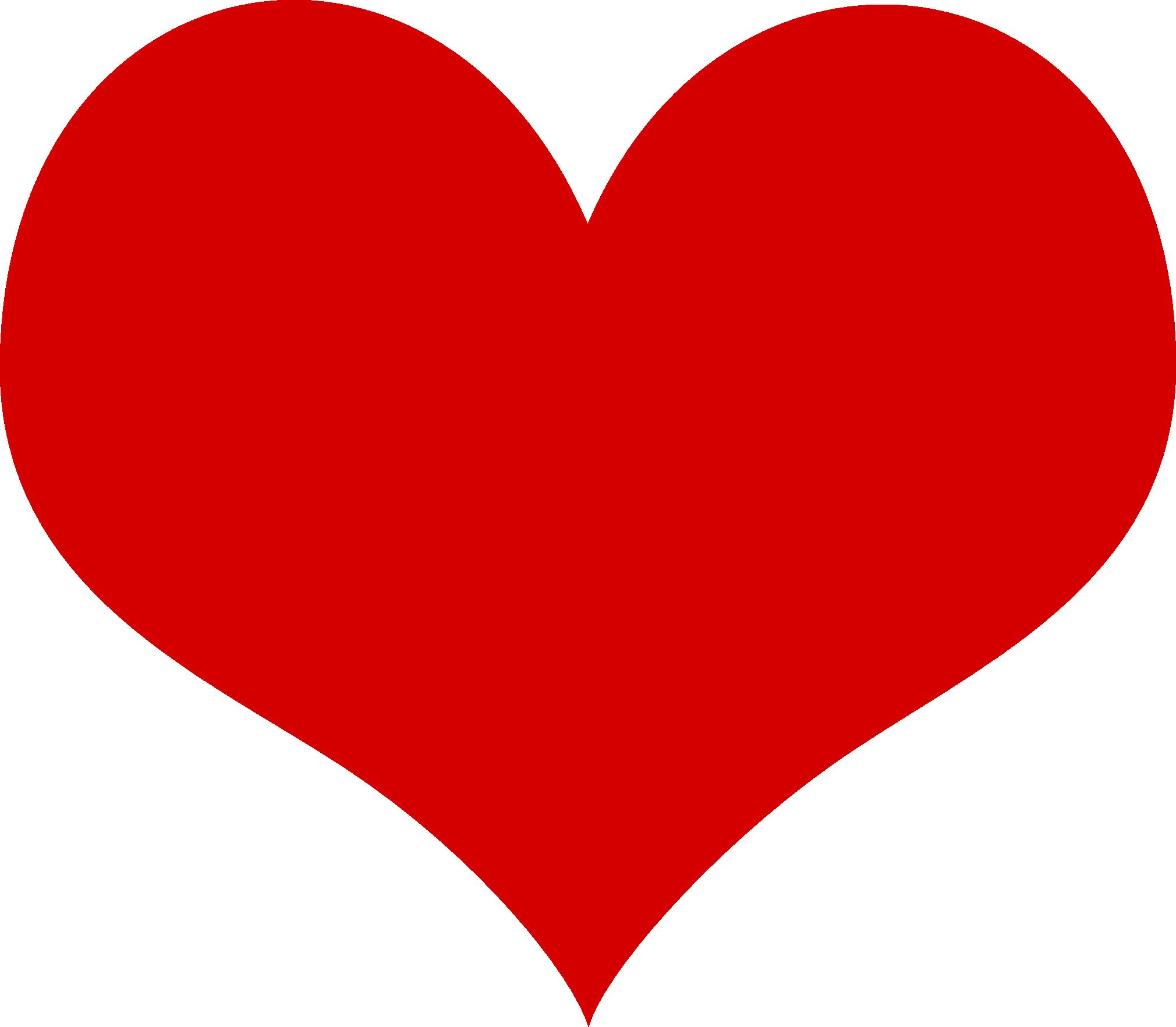 Love Heart Clipart--2