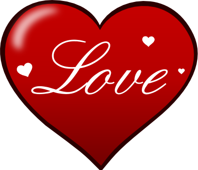 Love Heart Clipart--6