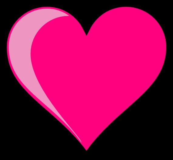 Love Heart Clipart--7