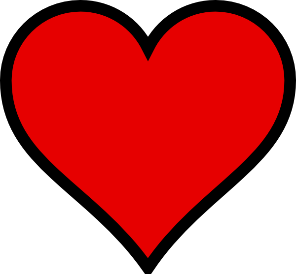 Love Heart Clipart--15