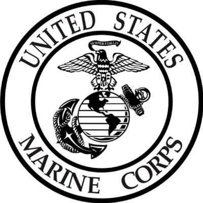 Marine Corps Emblem Clip Art--0