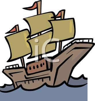 Mayflower Clip Art--15