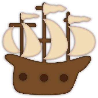 Mayflower Clipart--0