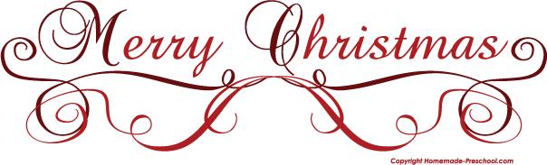 - Merry Christmas Clip Art Free
