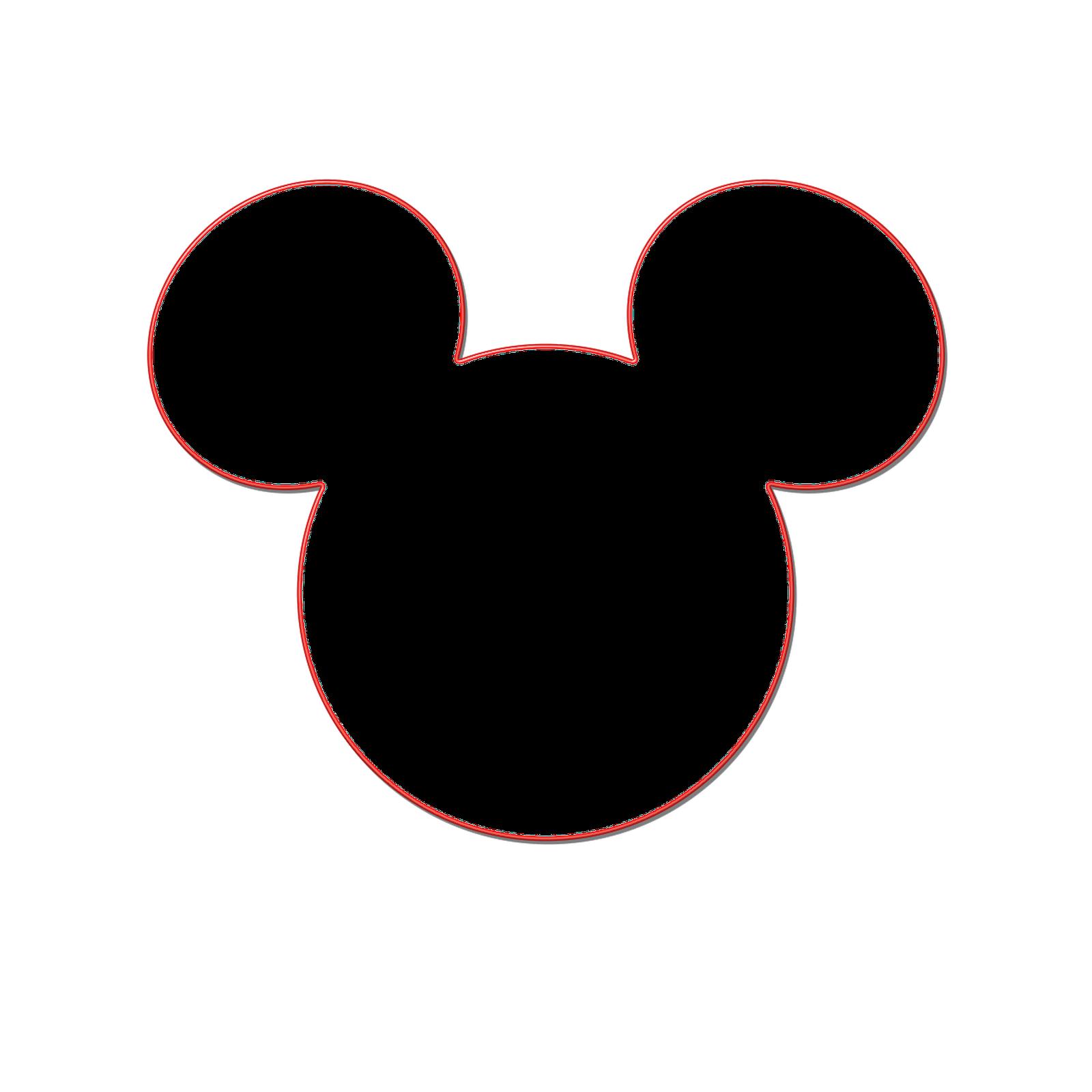 Mickey Ears Clip Art