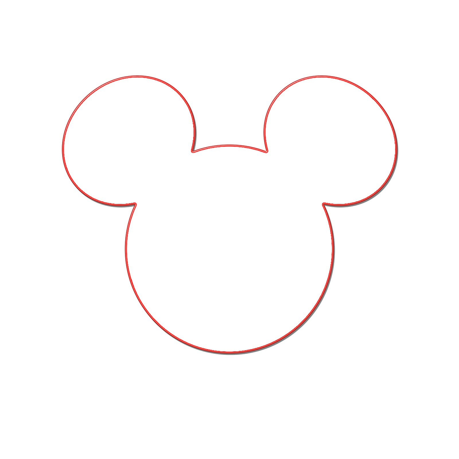 Mickey Mouse Head Clipart--6