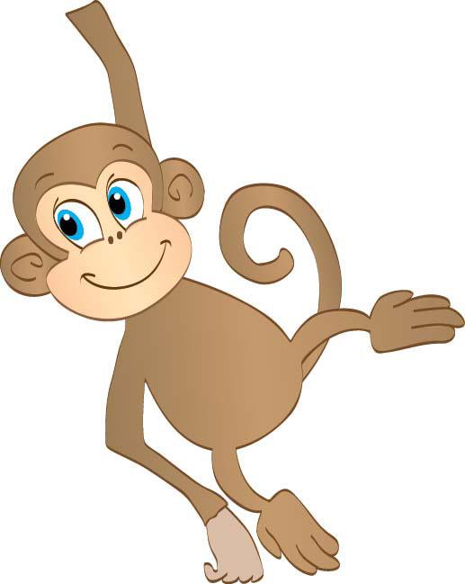 Monkey Clipart--12