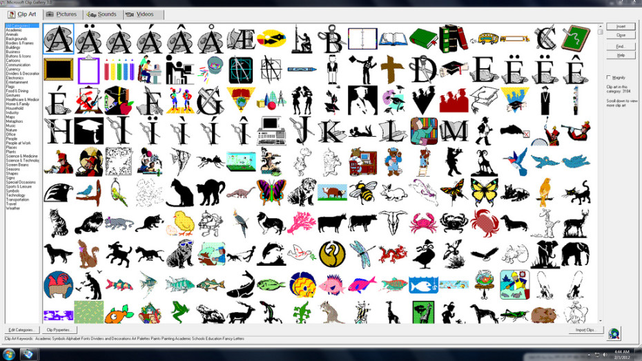 - Ms Clipart Gallery