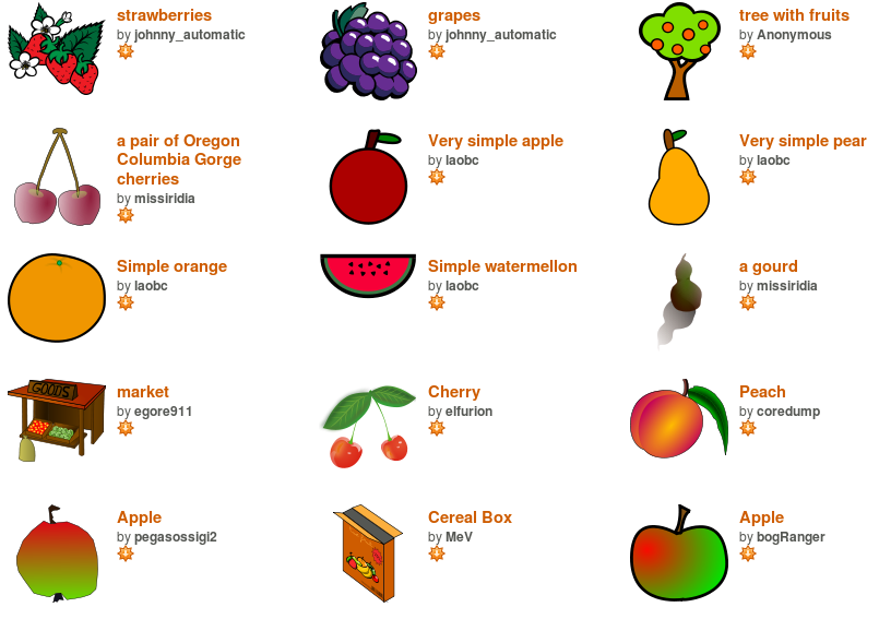 Open Clipart Library--0