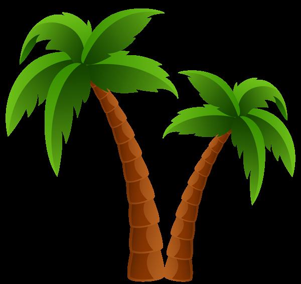 Palm Tree Clip Art--3