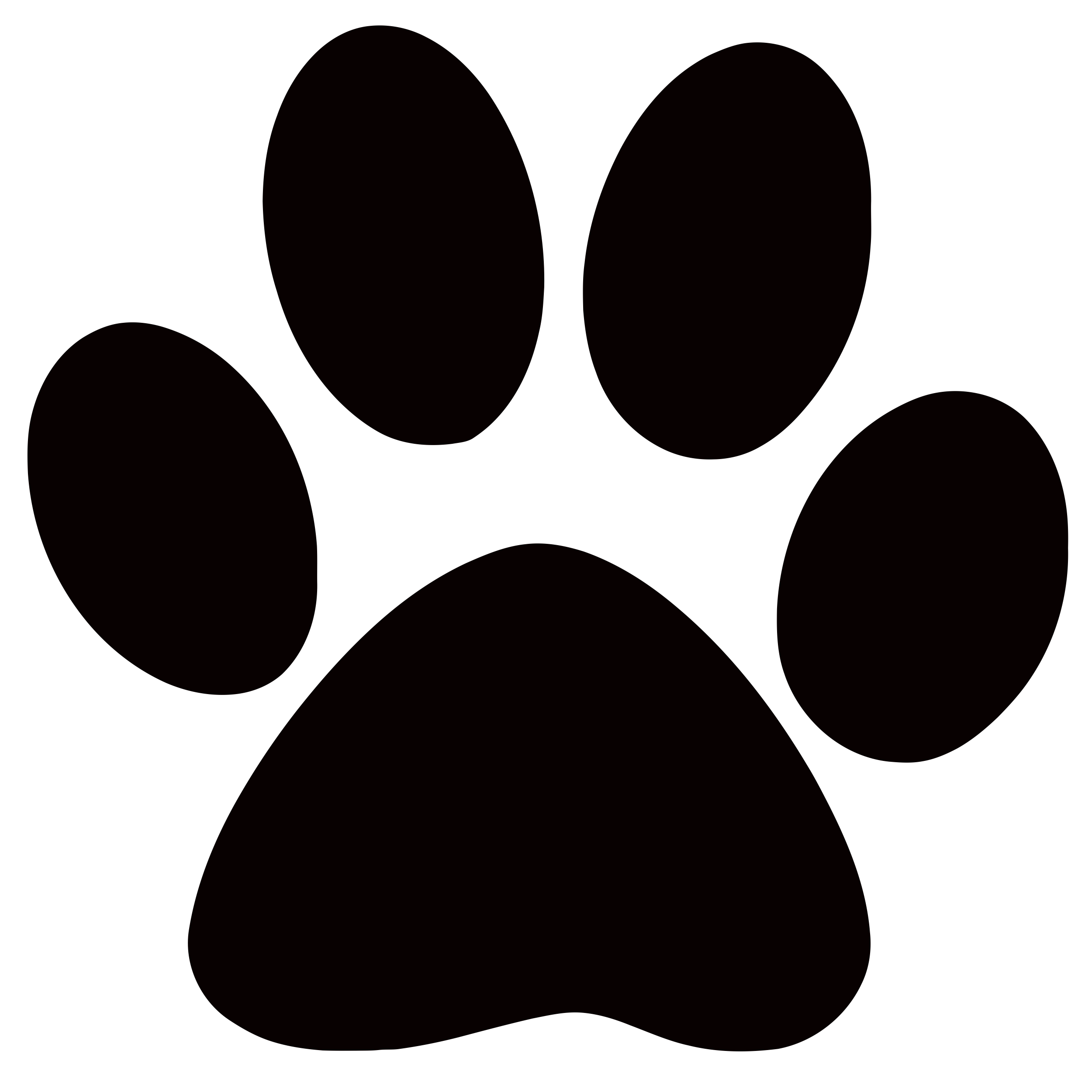 Panther Paw Clipart--0
