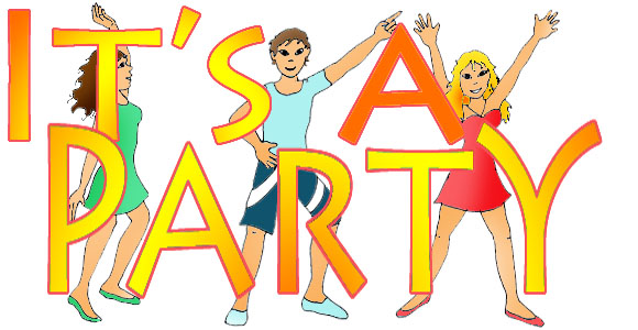 Party Clip Art Free--0