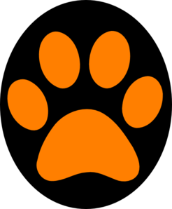 Paw Clipart--0