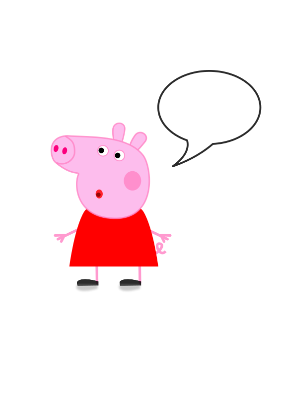 Peppa Pig Clipart--17